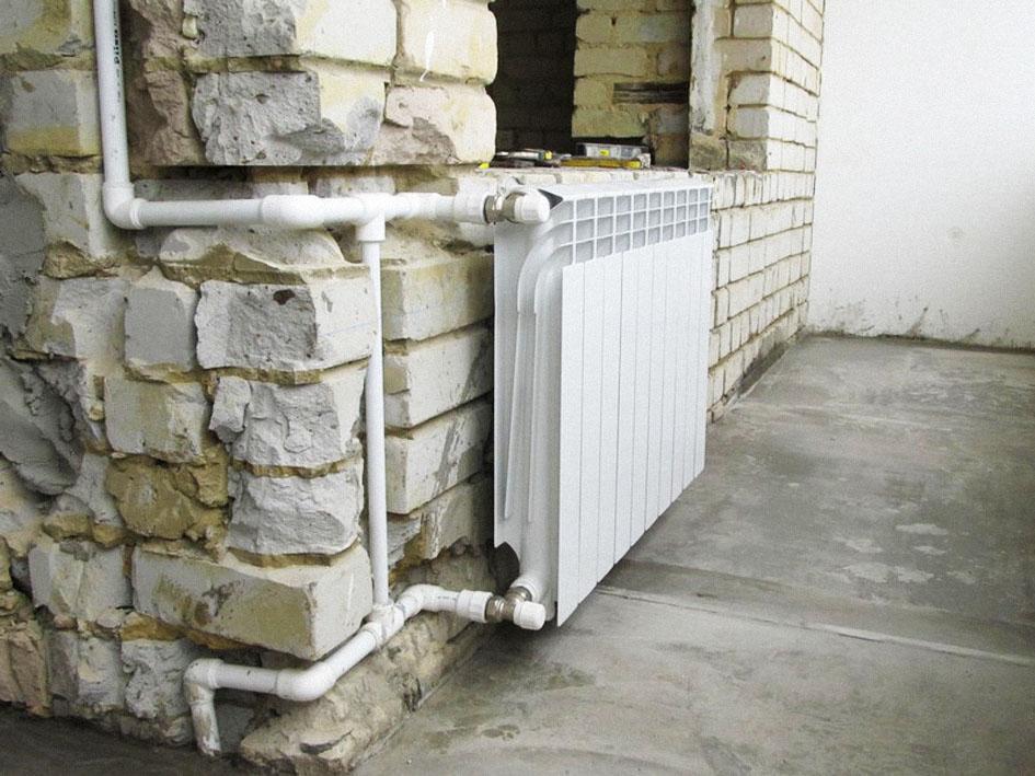 Отопление трехэтажного дома