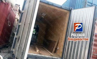 Утепление контейнера - полинор (POLYNOR)