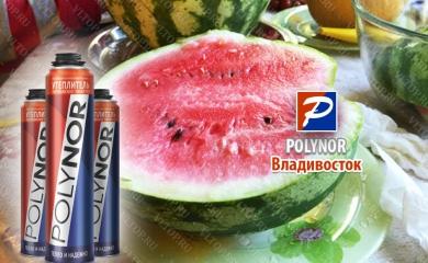 Выращиваем арбузы с полинором - Владивосток (POLYNOR)