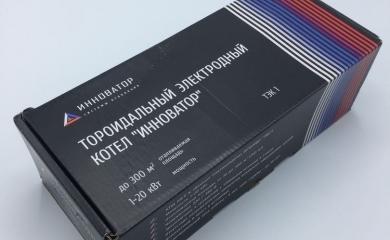 Котел инноватор - Заводская упаковка - Владивосток