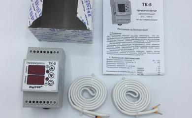 Котел инноватор - комплектация автоматикой (терморегулятор) Владивосток