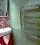 Установка полотенцесушителя в санузле