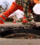 установка монтаж канализационного люка Владивосток