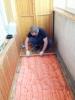 Тепло и шумоизоляция балкона