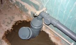 Прочистка засора канализации