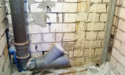Монтаж канализации - Сантехник замена труб